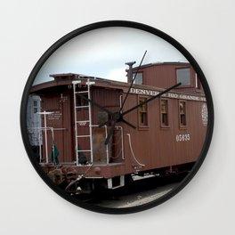 Relic of the Historic Denver & Rio Grande Western NG Railroad Wall Clock