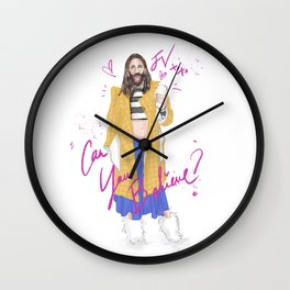 Can You Believe Wall Clock