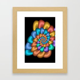 turn around with colors -23- Framed Art Print