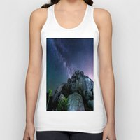 30 rock Tank Tops featuring Milky Way Rock by 2sweet4words Designs
