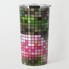 Pink Roses in Anzures 5  Mosaic Travel Mug