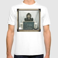 Boss Lady Mens Fitted Tee White MEDIUM