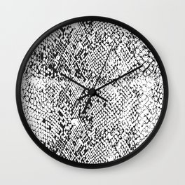 Snake Skin Wall Clock