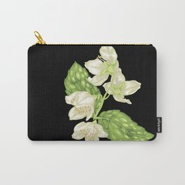 Jasmine Blooming Branch Carry-All Pouch