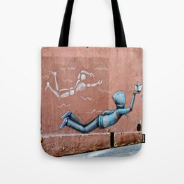 The Floating Man Tote Bag