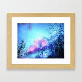 Listening to the Wind Framed Art Print