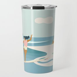 Wave Sisters Travel Mug