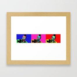 Posty Pops Framed Art Print