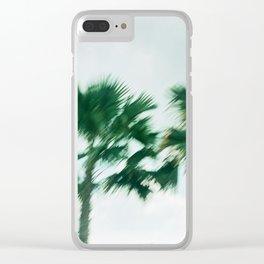 Ocean Blurr Clear iPhone Case