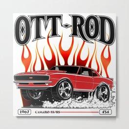 OTT-ROD Metal Print