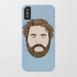 Zach Galifianakis iPhone Case