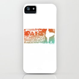 Welcome to Paia. Maui, Hawaii iPhone Case