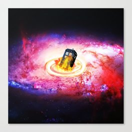 Tardis Black Hole Canvas Print
