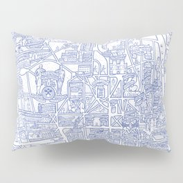 PRINCETON university map NEW JERSEY dorm decor Pillow Sham