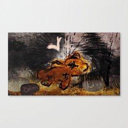The fallen ones Canvas Print