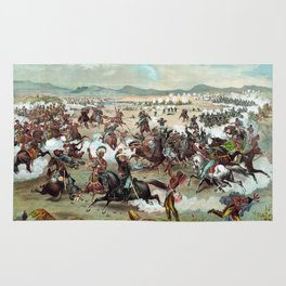 Custer's Last Stand Rug