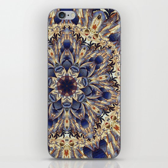 Morris Tapestry Mandala iPhone & iPod Skin