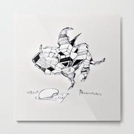 Paramecium Metal Print