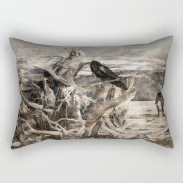 Raven Berry Rectangular Pillow
