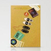moonrise kingdom Stationery Cards featuring Moonrise Kingdom by Lindsey Pudlewski