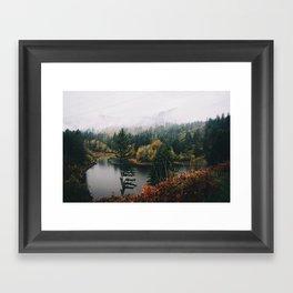 Gillette Lake Framed Art Print