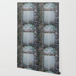 Old Blue Door II Wallpaper