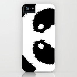 Panda Boobs iPhone Case