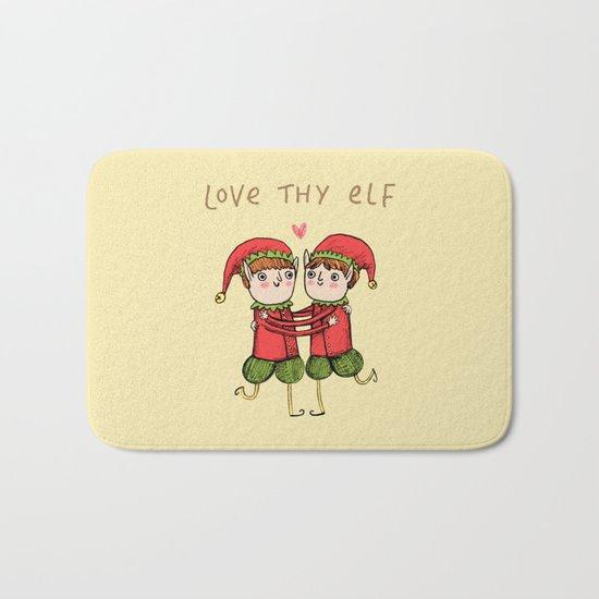 Love Thy Elf Bath Mat