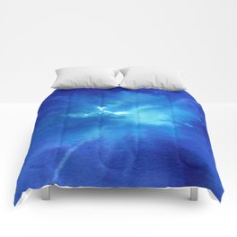 Blue Powder Comforters