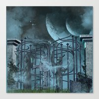 gothic Canvas Prints featuring Gothic by nicky2342