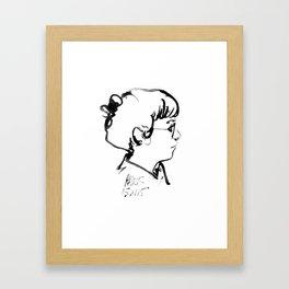 Leslie Framed Art Print