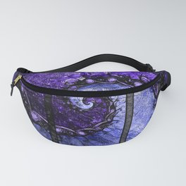 Nocturne of Scorpio -- Fractal Astrology Fanny Pack