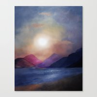 calm Canvas Prints featuring Calm by Viviana Gonzalez