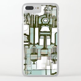 Architectural Engineering 1 Clear iPhone Case