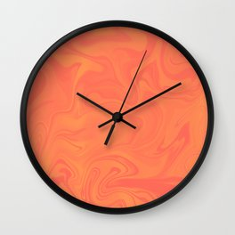 Tye dye Sunset Wall Clock