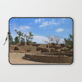 Aztec Ruins New Mexico Laptop Sleeve