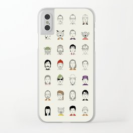 The Characters of W Clear iPhone Case