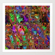 Geode by Tim Henderson Art Print