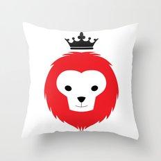 Little Lion Man Throw Pillow