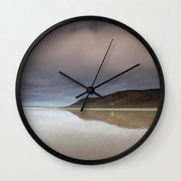 Rhossili bay Gower Wall Clock