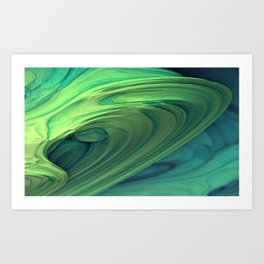 Shapley Supercluster Art Print
