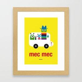 Mec Mec Framed Art Print