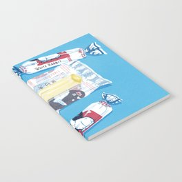 White Rabbit Candy 2 Notebook