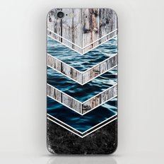 Striped Materials of Nature III iPhone & iPod Skin