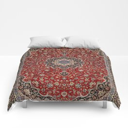 N63 - Red Heritage Oriental Traditional Moroccan Style Artwork Comforters