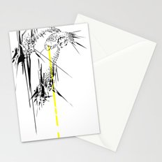 Holy Weapon // (Glitch Owl) Stationery Cards
