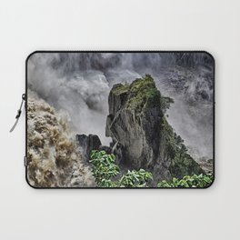 Chaotic water view Laptop Sleeve