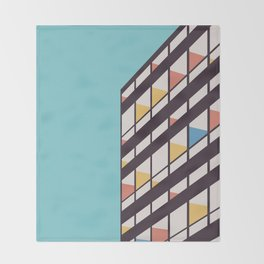 Le Corbusier Throw Blanket