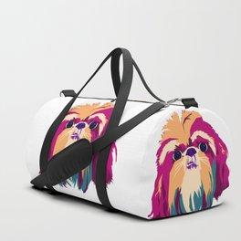 Shih Tzu Face Duffle Bag