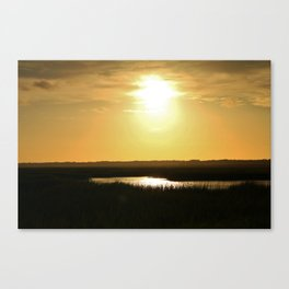 Rays Of Sun Canvas Print